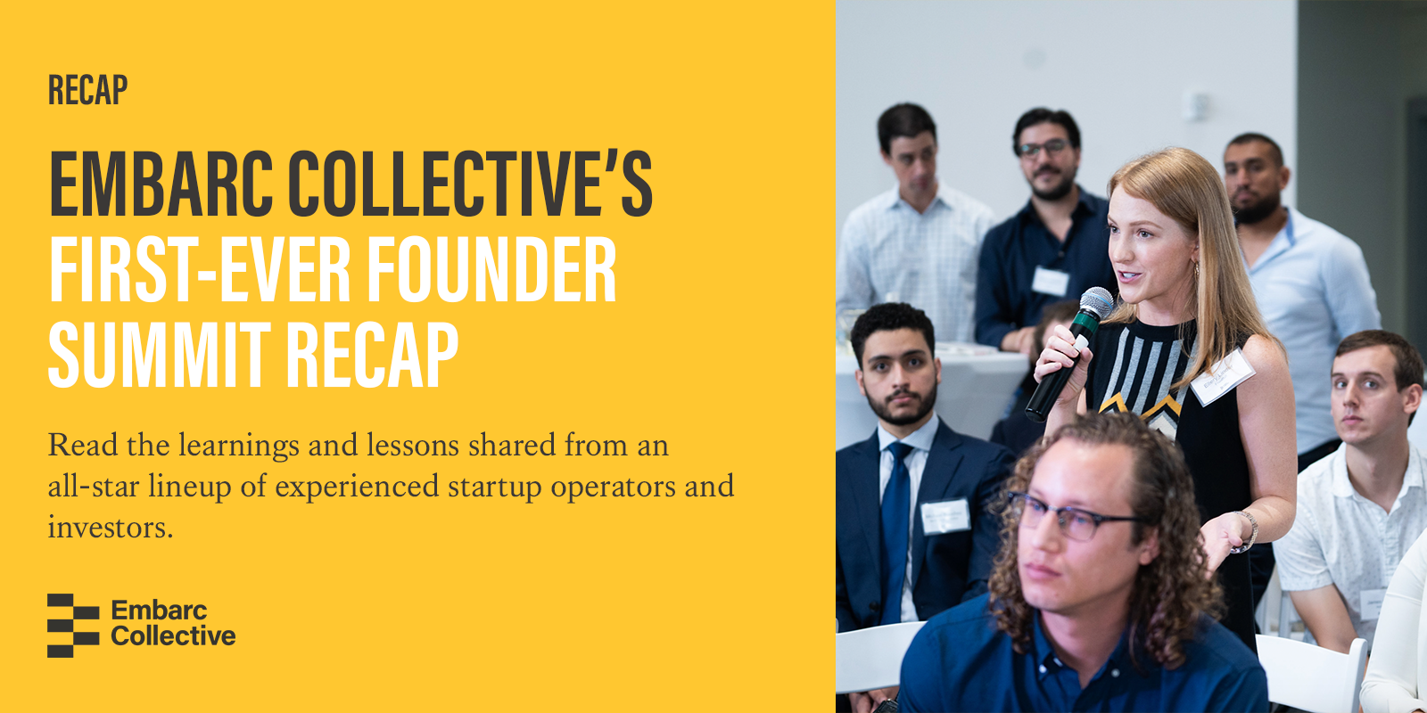 Read the learnings and lessons shared from an all-star lineup of experienced startup operators and investors.