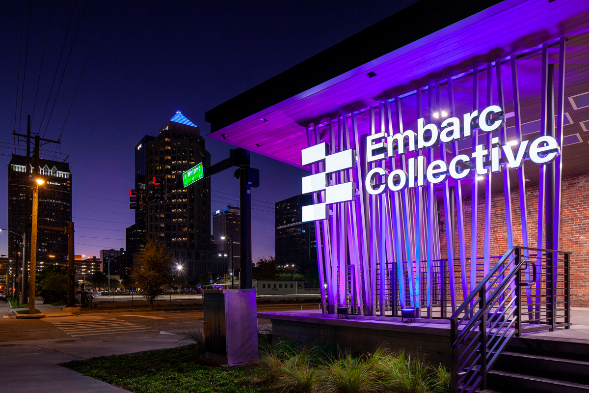 Embarc Collective Purple Entrance