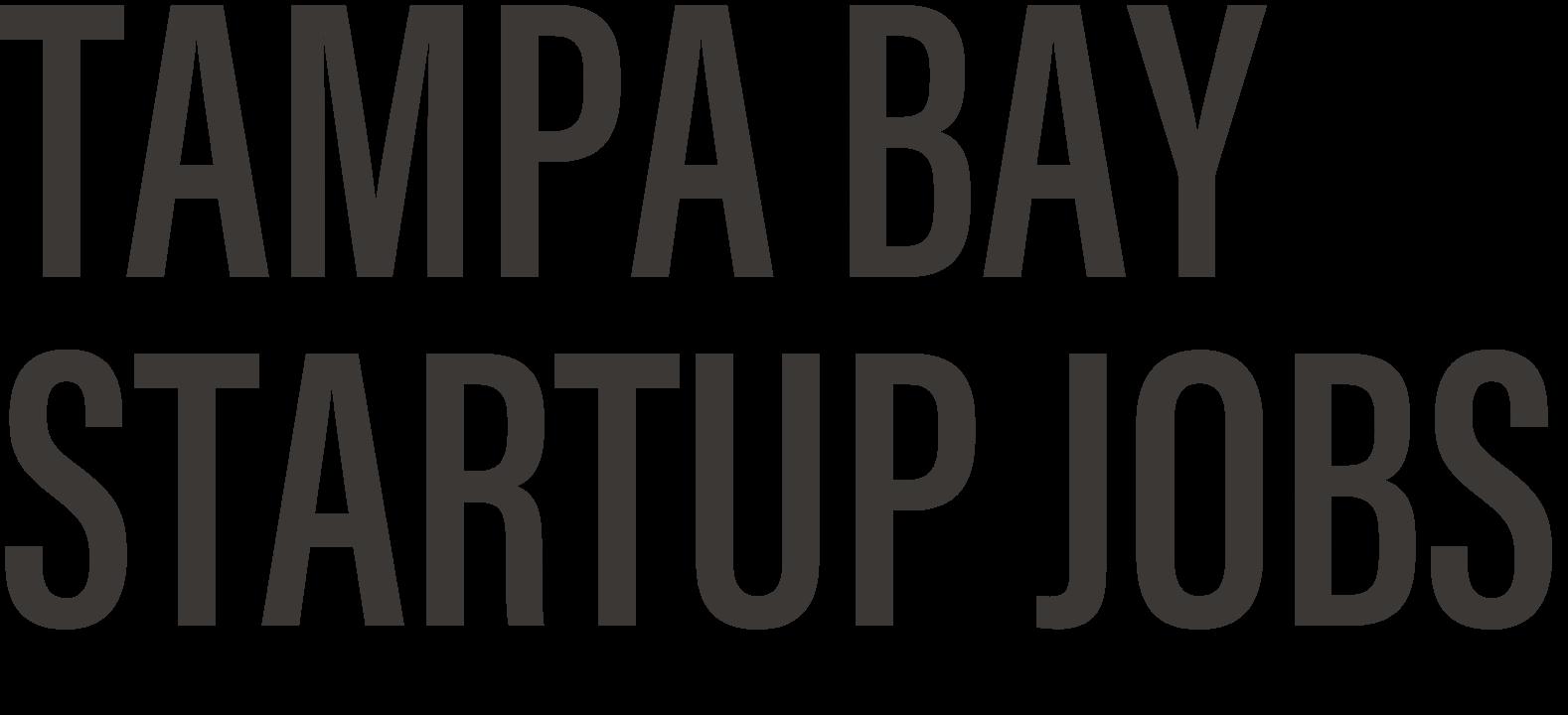 Tampa Bay Startup Jobs